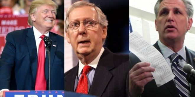 Trump Blasts 'Weak' Republicans, Says Mitch McConnell Is 'Hopeless'