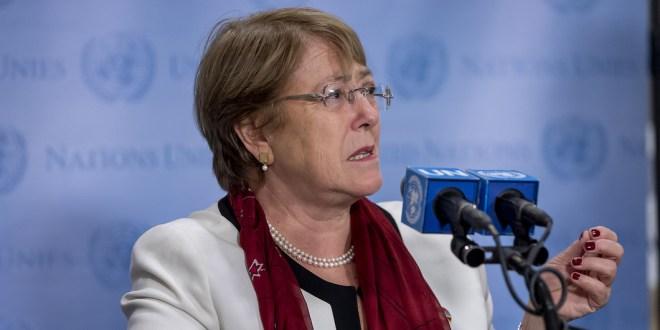 UN Human Rights chief appeals for de-escalation in Israel-Palestine crisis