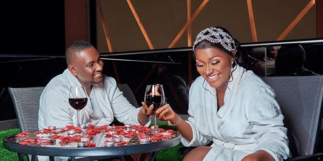 Actress Chacha Eke celebrates 8th wedding anniversary with hubby Austin Faani