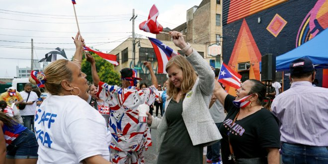 Adams Attacks Garcia as Poll Shows They Lead Mayoral Field