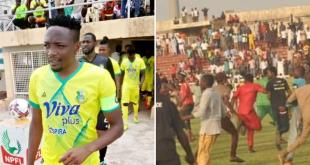 Ahmed Musa expresses his frustration after he was chased out of the field by fans in an ugly incident in Kano