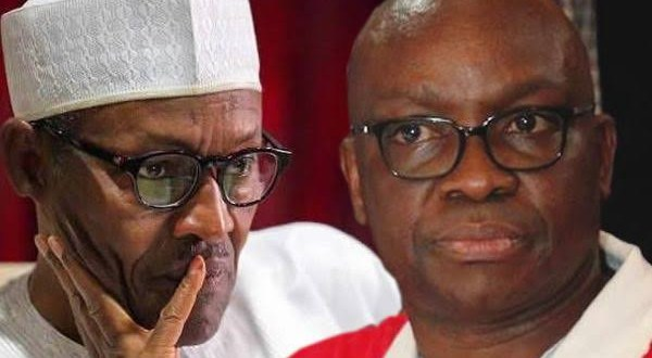 """""""Can he operate Android Phone not to talk of making genocidal tweets? - Ayo Fayose questions after Buhari's tweet about civil war is deleted by Twitter"""