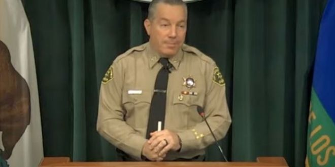 Fed-Up L.A. County Sheriff Demands 'State Of Emergency' On Homeless Crisis