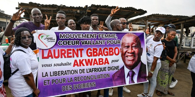 Former President Laurent Gbagbo returns to Ivory Coast