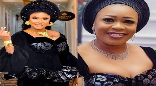 Iyabo Ojo draws first blood in fight with Tosin Abiola