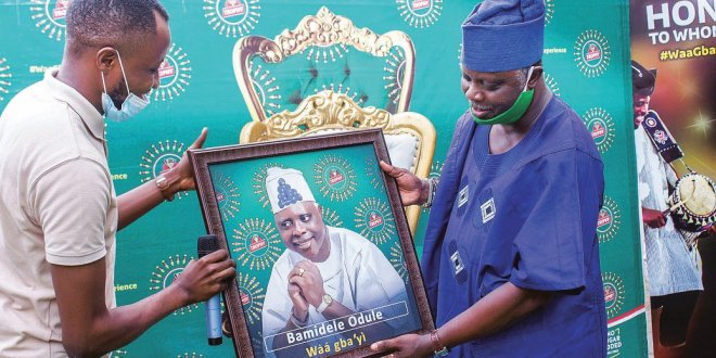 Jide Kosoko, Dele Odule, others get 'Waa Gbayi' experience