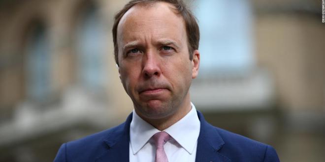 Matt Hancock, Britain's beleaguered health secretary, resigns after being caught kissing aide
