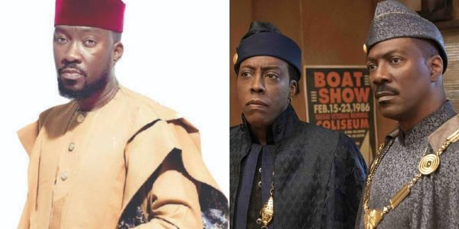 Nigerian designer Ugo Monye threatens legal action against 'Coming 2 America' producers over infringement