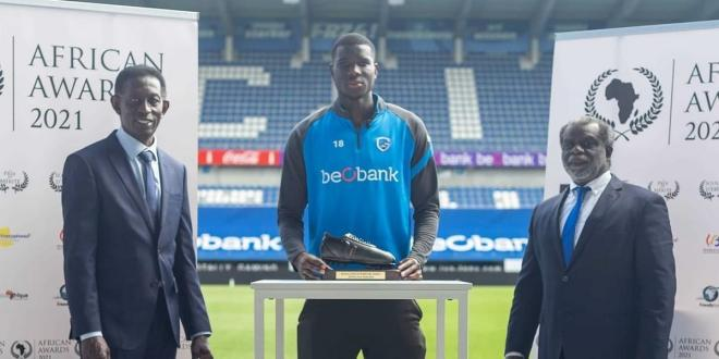 Super Eagles striker Paul Onuachu named best African player in Belgium after a 35-goal season