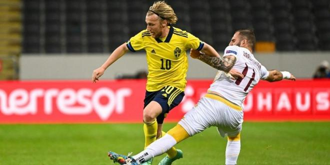 Sweden see off Armenia in Euro warm-up