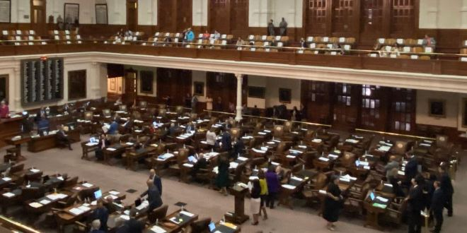 Texas Democrats Walk Off House Floor And Block Election Rigging Bill From Passing