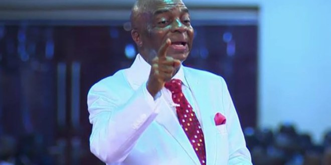 The only thing remaining in Nigeria today are the investments of God?s people - Bishop Oyedepo