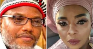 Rita Edochie Calls For The Release Of Nnamdi Kanu, Says 'We Can't Continue To Be Third Class Citizens.'