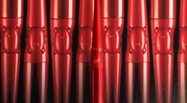 Hourglass Confession Lipstick Red O   British Beauty Blogger