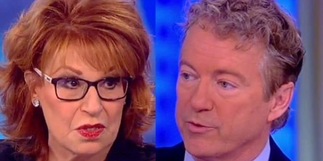 Joy Behar Rips Rand Paul As A 'Third-Party Hack' Who Should Be 'Thanking' Fauci Instead Of Attacking Him