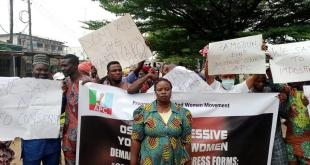 Osun APC youth protest alleged hijacking of forms ahead of ward congress