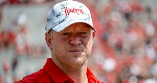 Nebraska's Scott Frost reportedly angry at officials after Oklahoma pregame skirmish