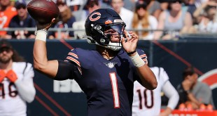 These three plays defined Justin Fields' inconsistent first look as Bears QB vs. Bengals