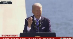 Biden Says Capitol Riot Was 'About White Supremacy'
