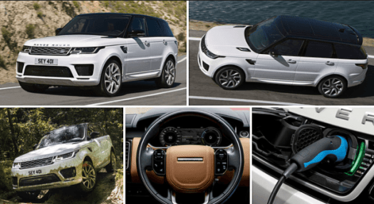 2019 Land Rover Range Rover Sport, P400E Plug-in Hybrid