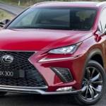 2019 Lexus NX Spy Shots