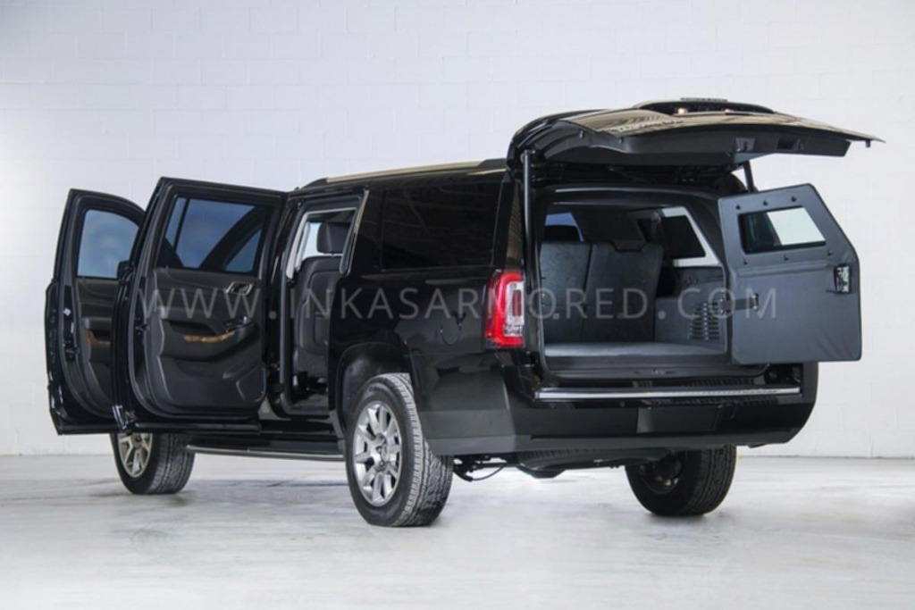 2020 GMC Yukon Spy Shots