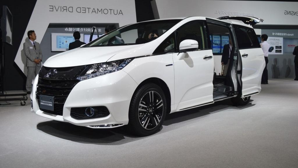 2020 Honda Odyssey Spy Photos