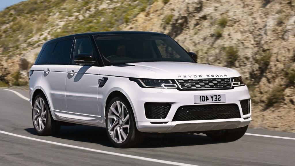 2020 Range Rover Sport Spy Photos