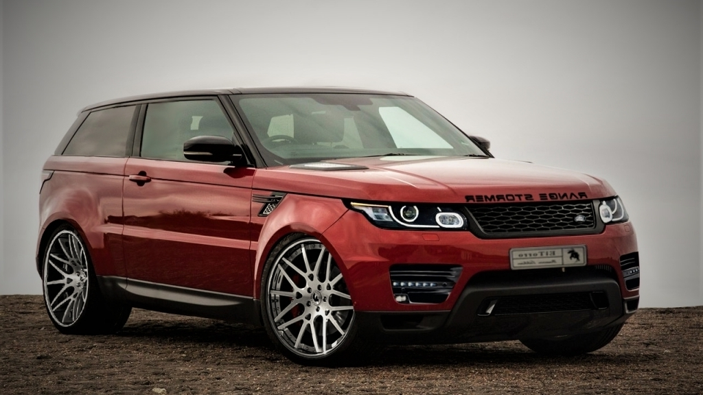 2020 Range Rover Sport Spy Shots