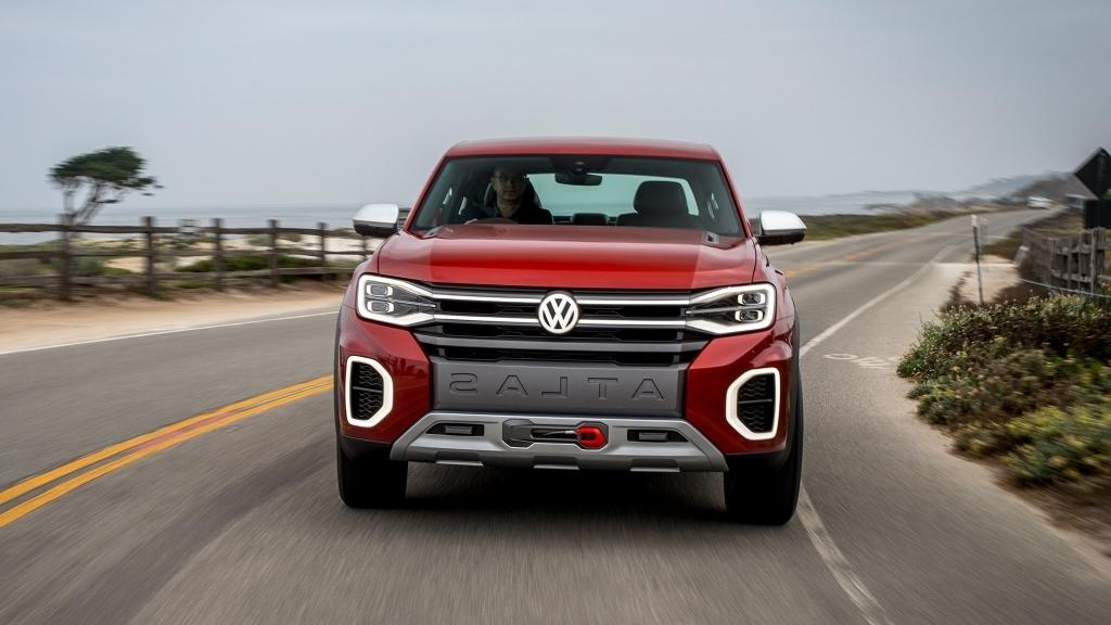 2020 Volkswagen Atlas Tanoak Spy Shots