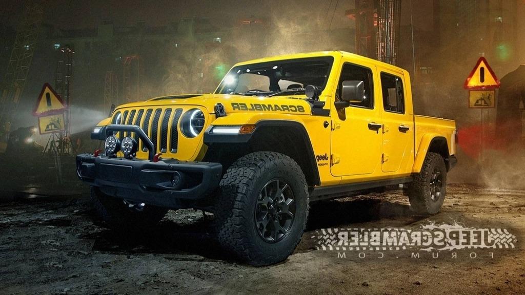 2020 Jeep Wrangler Pickup Interior