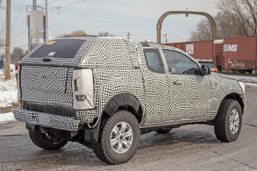 2021 Ford Courier Pictures