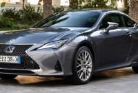 2021 Lexus RC Release Date