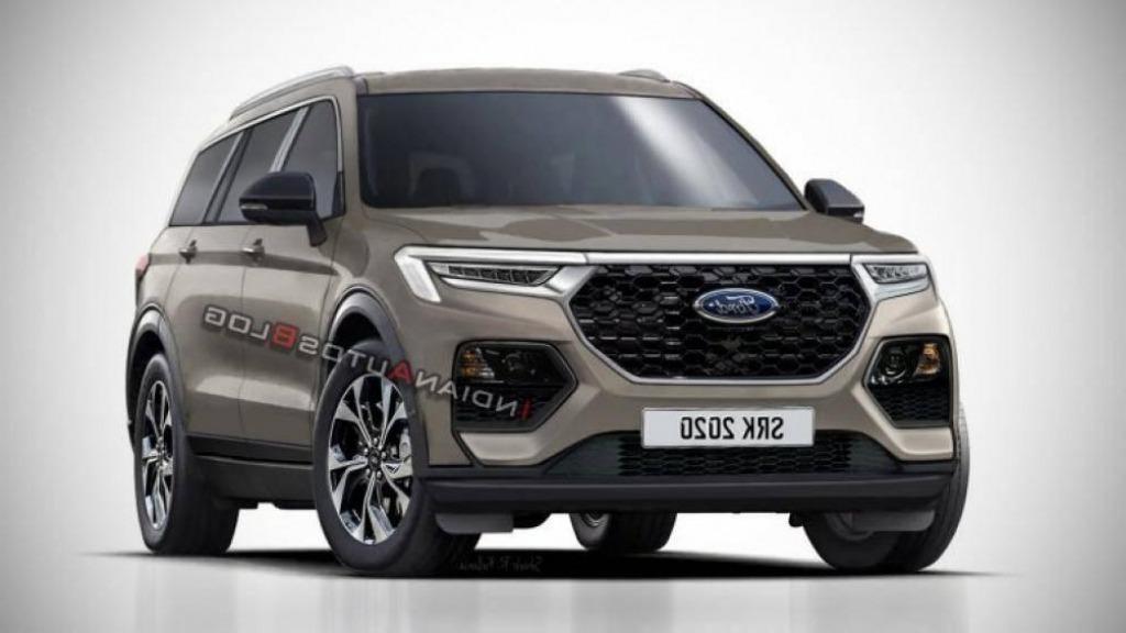 2022 Ford Everest Spy Shots