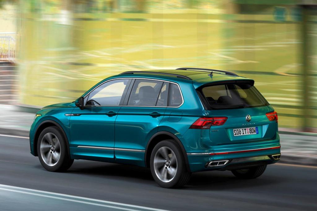 2023 VW Tiguan Interior