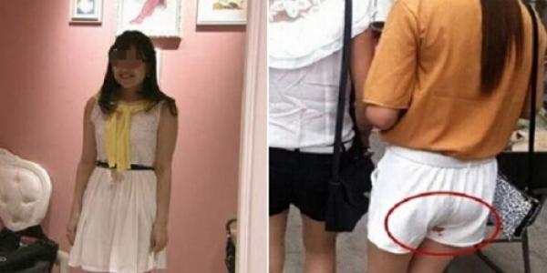 月經來竟到處試穿褲子 可憐櫃姐還得幫奧客洗經血
