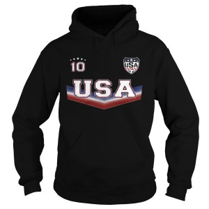 The United States womens national soccer team 10 Hoodie