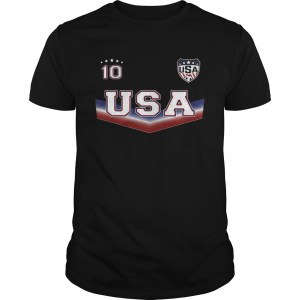The United States womens national soccer team 10 Unisex