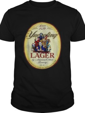 Beer Halloween since 1829 Yuengling lager by Americas oldest brewery shirt