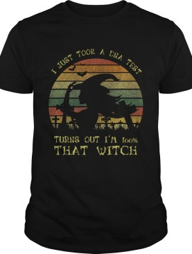 I Just Took A Dna Test Turns Out Im 100 Percent That WitchPremium TShirt