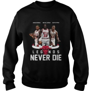 Chicago Bulls Players Legends Never Die Dennis Rodman  Sweatshirt