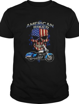 4th of July independence day American Biker shirt