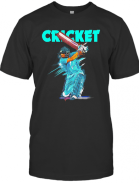 Fans Jersey Indian Cricket Team Touchdown T-Shirt