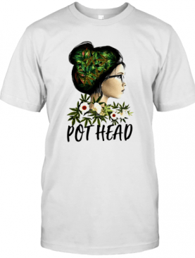 Weed Girl Pot Head T-Shirt