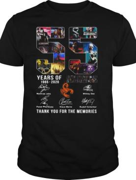 55 Years Of 1965 2020 Scorpions Thank You For The Memories Signatures