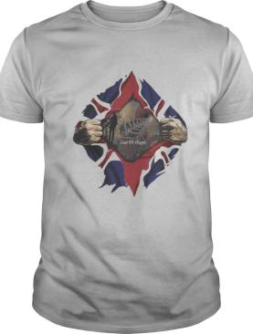 Blood Inside Me American Flag Independence Day shirt