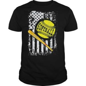 Independence day softball shirt