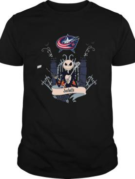 Halloween Jack Skellington Columbus Blue Jackets shirt