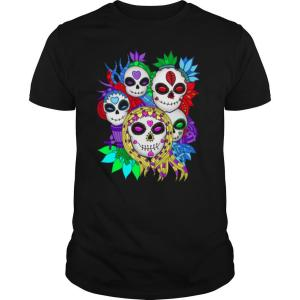 Skulls Family Day Of The Dead Mexican Holiday shirt