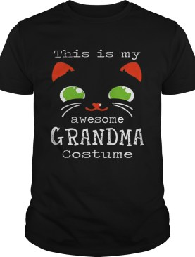 This Is My Awesome Grandma Costume shirt